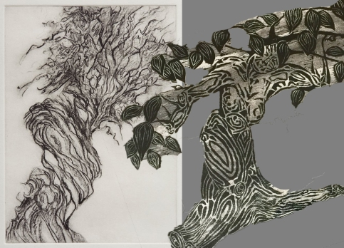 Side by Side - L/Hazel, R/Rossbach